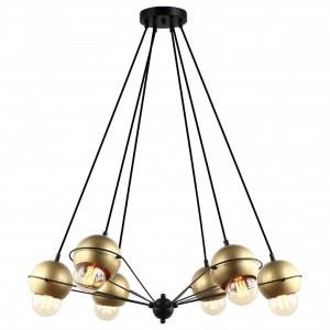 Фото 1 Подвесной светильник 2358-6P в стиле лофт