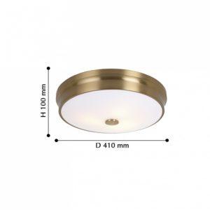 Детальное фото 2 Накладной светильник 2375-3C в стиле модерн