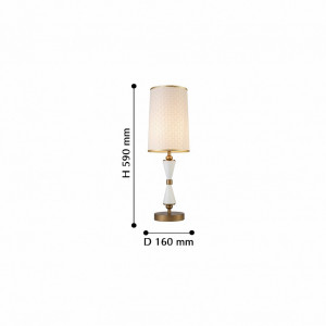 Настольная лампа декоративная 2527-1T Favourite