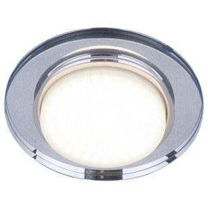 8061 GX53 SL / Светильник встраиваемый зеркальный/серебро a031989