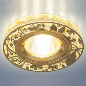 8096 MR16 GD / Светильник встраиваемый золото a032385