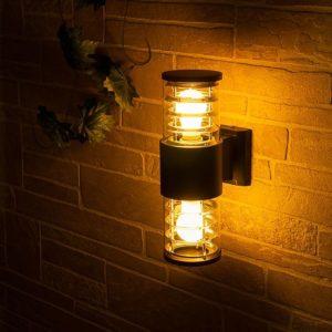 1407 TECHNO / Светильник садово-парковый серый a032621