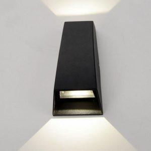 1016 TECHNO / Светильник садово-парковый со светодиодами черный a032763
