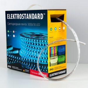 LSTR002 220V 7,2W IP65 / Лента светодиодная 220V 7,2W 30Led 5050 IP65 мульти, 50 м a033707