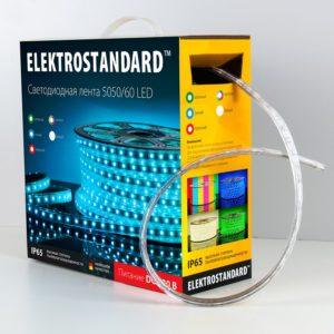 LSTR003 220V 14,4W IP65 / Лента светодиодная 220V 14,4W 60Led 5050 IP65 зеленый, 50 м a033713