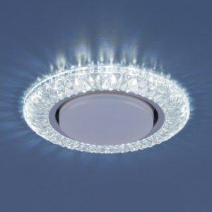 3020 GX53 / Светильник встраиваемый CL прозрачный a035091