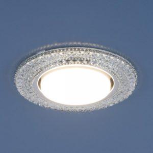 3030 GX53 / Светильник встраиваемый CL прозрачный a035177