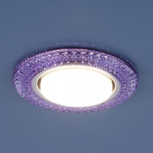 3030 GX53 / Светильник встраиваемый VL фиолетовый a035179