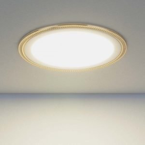 DLR006 12W 4200K / Светильник встраиваемый PS/G перламутровый серебро/золото a035365