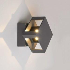 1606 TECHNO LED графит / Светильник садово-парковый со светодиодами TELLUS a035807