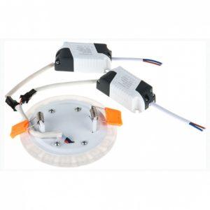 DSS002 6W 4200K / Светильник встраиваемый DSS002 3+3W 4200K a037542