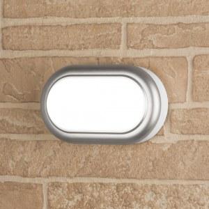 LTB03824000 8W 54K / Светильник стационарный светодиодный LED Светильник 16.7 см 8W 4000K IP54 серебро a037908