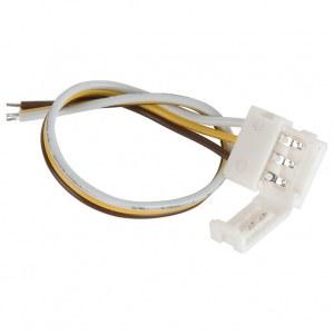 Коннектор для ленты Бегущая волна гибкий односторонний / Соединитель электрический (10pkt) a037997