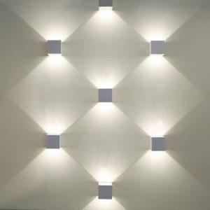 1548 TECHNO LED / Светильник садово-парковый со светодиодами WINNER серый a038411