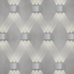 1551 TECHNO LED / Светильник садово-парковый со светодиодами TWINKY TRIO серый a038417