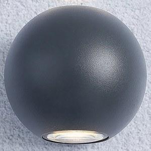 1566 TECHNO LED / Светильник садово-парковый со светодиодами DIVER серый a038538
