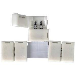 LED 1T / Соединитель электрический коннектор для 3528, 2835 одноцв светодиодной ленты T(10pkt) a038799