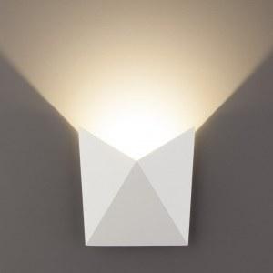 1517 TECHNO / Светильник садово-парковый со светодиодами LED BATTERFLY белый a038827