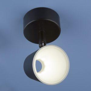 DLR025 5W 4200K / Светильник светодиодный стационарный черный матовый a039690
