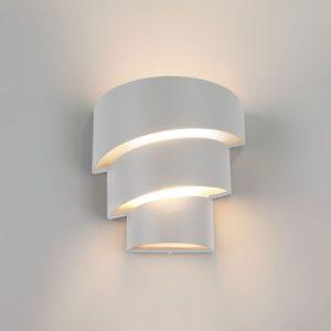 1535 TECHNO LED / Светильник садово-парковый со светодиодами HELIX белый a039957