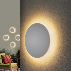 1660 TECHNO LED / Светильник садово-парковый со светодиодами CONCEPT S белый a039990