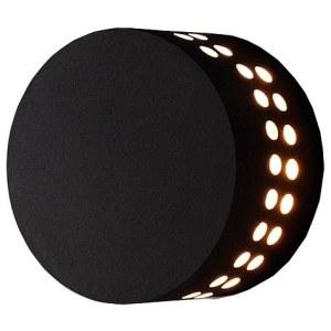 1585 TECHNO LED / Светильник садово-парковый со светодиодами ARKADA черный a039997
