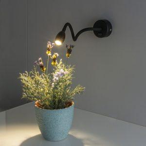 MRL LED 1020 / Светильник настенный светодиодный BAND черный a039998