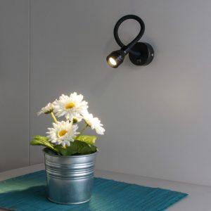 MRL LED 1030 / Светильник настенный светодиодный KORD черный a040000