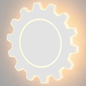 MRL LED 1100 / Светильник настенный светодиодный Gear L LED белый a040516