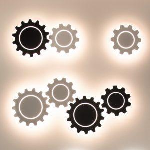Фото 2 Накладной светильник a040752 в стиле техно