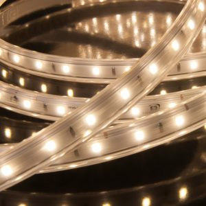 LS010 220V/ Лента светодиодная Premium 220V 9,6W 60Led 2835 IP65, 4200K дневной белый, 50 м a041108