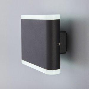 1505 TECHNO LED/ Светильник садово-парковый со светодиодами COVER чёрный a041313