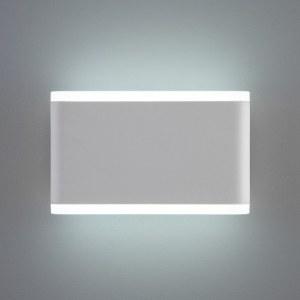 1505 TECHNO LED/ Светильник садово-парковый со светодиодами COVER белый a041314