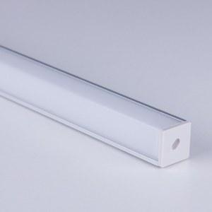 LL-2-ALP009 / Квадратный угловой алюминиевый профиль для LED ленты (под ленту до 10mm) a041814