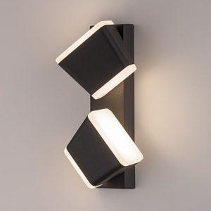 1522 TECHNO LED / Светильник садово-парковый со светодиодами BELL черный a041975