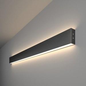 101-100-40-103 / Линейный светодиодный накладной двусторонний светильник 103см 40W 4200K черная шагрень a042918
