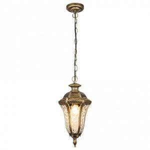 GL 1010H / Светильник садово-парковый Draco H черное золото (GL 1010H) a043121