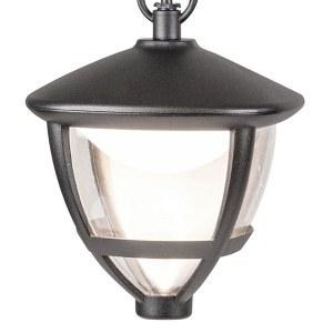 GL LED 3001H / Светильник садово-парковый со светодиодами Gala H черный (GL LED 3001H) a043199