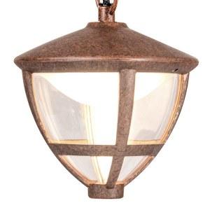 GL LED 3001H / Светильник садово-парковый со светодиодами Gala H брауни (GL LED 3001H) a043200