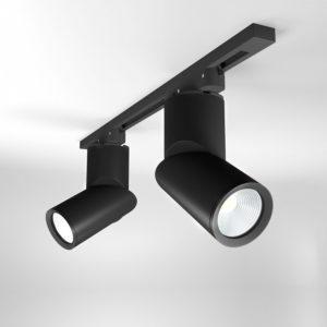 LTB33 / Светильник потолочный светодиодный Corner Черный 15W 4200K a043418