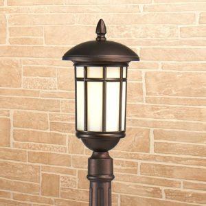 GL 1016F / Светильник садово-парковый Lepus F кофейное золото (GL 1016F) a043645
