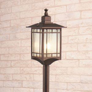 GL 1019F / Светильник садово-парковый Vela F кофейное золото (GL 1019F) a043648