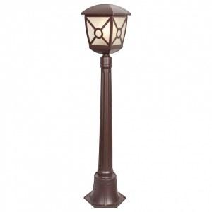 GL 1022F / Светильник садово-парковый Columba F коричневый (GL 1022F) a043657
