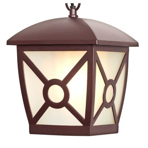 GL 1022H / Светильник садово-парковый Columba H коричневый (GL 1022H) a043658