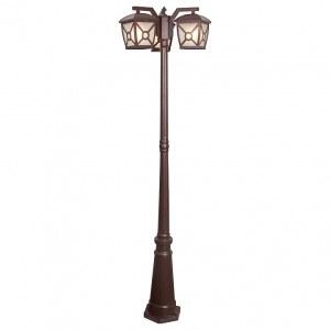 GL 1022F/3 / Светильник садово-парковый Columba F/3 коричневый (GL 1022F/3) a043659