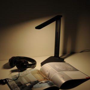 TL80960 / Светильник светодиодный настольный Pele черный a044006