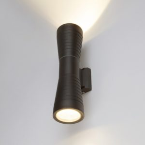 1502 TECHNO LED/ Светильник садово-парковый со светодиодами 1502 TECHNO LED TUBE DOBLE черный a044301