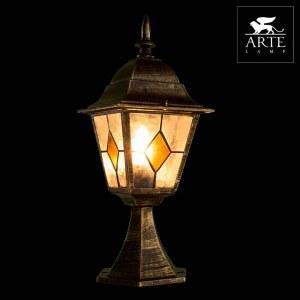 Фото 2 Наземный низкий светильник A1014FN-1BN в стиле классический