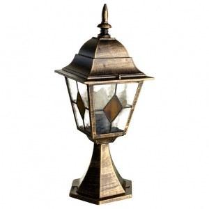 Фото 1 Наземный низкий светильник A1014FN-1BN в стиле классический
