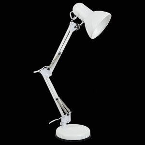 Фото 2 Настольная лампа офисная A1330LT-1WH в стиле техно